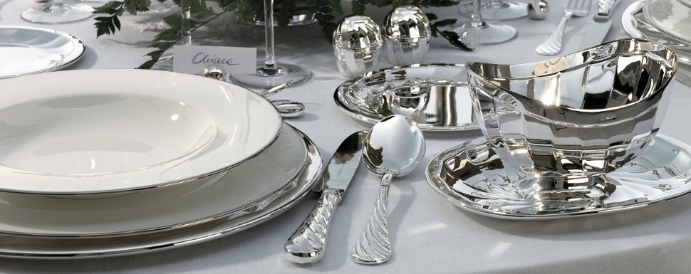Silver Table Accents